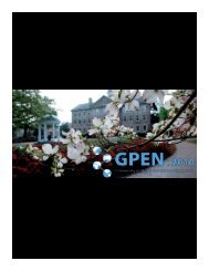 Program - UNC Eshelman School of Pharmacy - University of North ...