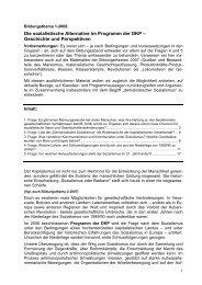 Geschichte und Perspektiven - DKP