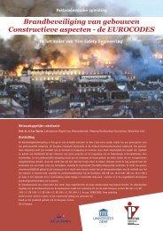 Brandbeveiliging van gebouwen Constructieve aspecten ... - Agoria