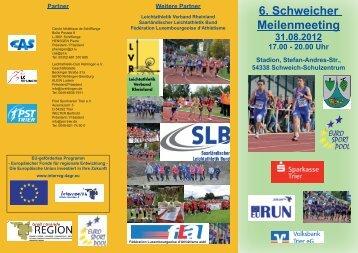 6. Schweicher Meilenmeeting 31.08.2012 17.00 - Leichtathletik ...