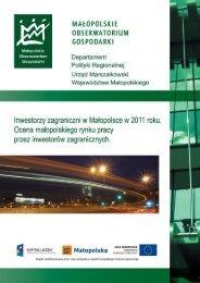 Zobacz raport - Business in MaÃ…Â'opolska