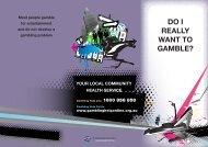 Gambling brochure - Clubs Queensland