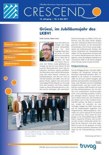 Ausgabe 02/2011 - Luzerner Kantonal-Blasmusikverband