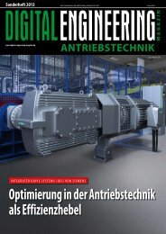 Leseprobe Sonderheft Antriebstechnik - Digital Engineering Magazin