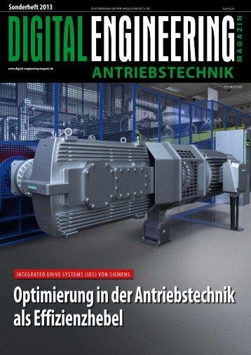 Leseprobe Sonderheft Antriebstechnik - Digital Engineering Magazin