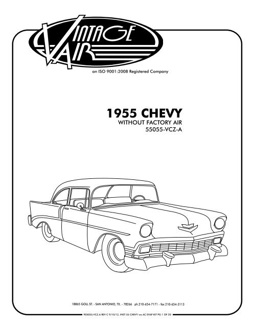 1955 CHEVY - Vintage Air on