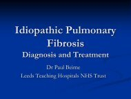 IPF Diagnosis and Treatment - Paul Beirne - British Lung Foundation