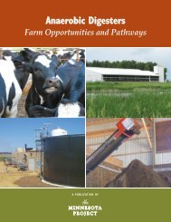 ANAEROBIC DIGESTERS: Farm Opportunities and Pathways