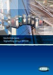 Signalling relays BR930 - Rmspl.com.au