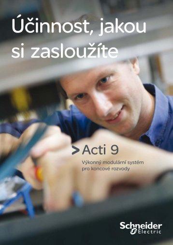 Acti 9 panorama (pdf - 2.1 Mb) - Schneider Electric CZ, s.r.o.