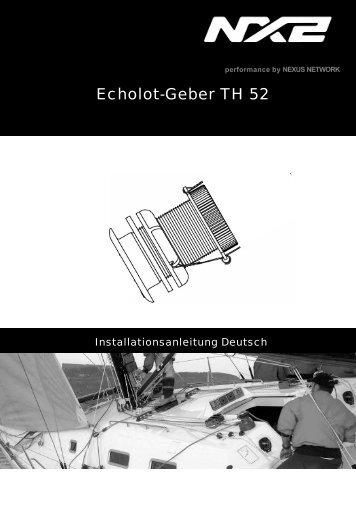 Echolot-Geber TH 52