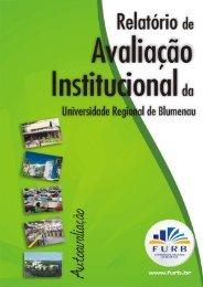 Relatório de Autoavaliação 2006-2008 - Furb