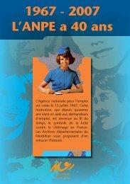 1967 - 2007 L'ANPE a 40 ans - Conseil général du Morbihan