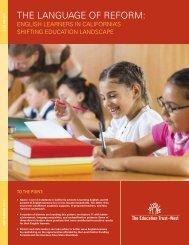 ETW The Language of Reform Report