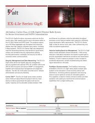 EX-4.5r Series GigE - Leading provider of wireless products ...