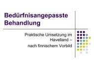 Das Modellprojekt - Initiative zur sozialen Rehabilitation eV