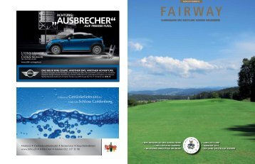 FAIRWAY - Golfclub Schloss Goldenberg