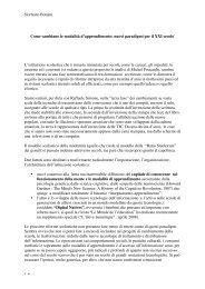 Norberto Bottani 1-6 Come cambiano le modalità d'apprendimento ...