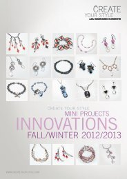 Mini Projects: Innovations Fall/Winter 2012/13 - Create Your Style