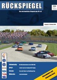 Flussabwärts mit Sebastian Bach - Virtual Racing eV