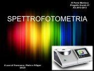 spettrofotometria - Scuola21 - Fermi