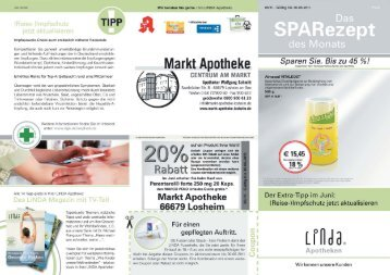 'TIPP - Markt Apotheke Losheim