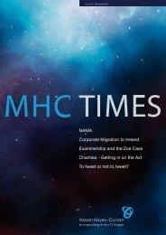 MHC Times Issue 26 - Mason Hayes Curran