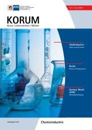 Chemieindustrie - AHK Korea - AHKs