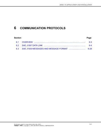 communication protocols - Wanderlodge Owners Group