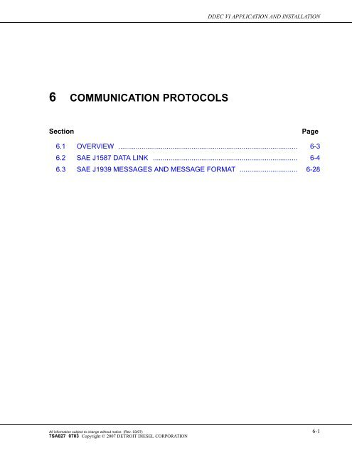 communication protocols - Wanderlodge Owners Group | Ddec 4 Wiring Diagram J1939 |  | Yumpu