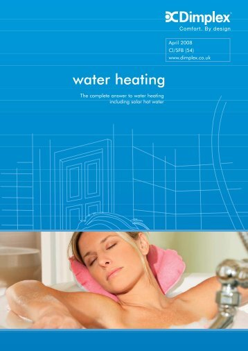 water heating - Advanced Water