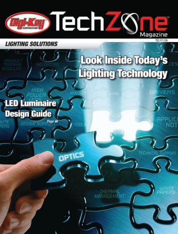 Lighting Solutions TechZone Magazine, February 2011 - Digikey