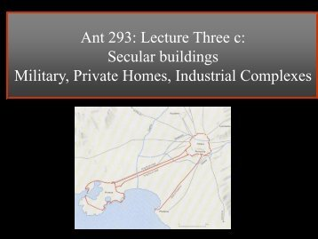 Lecture 5: Secular Building - Mister Dans Home Page