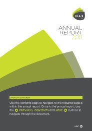 ANNUAL REPORT 2011 - MAS plc