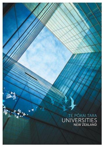 profile document sumarises the work of Universities New Zealand