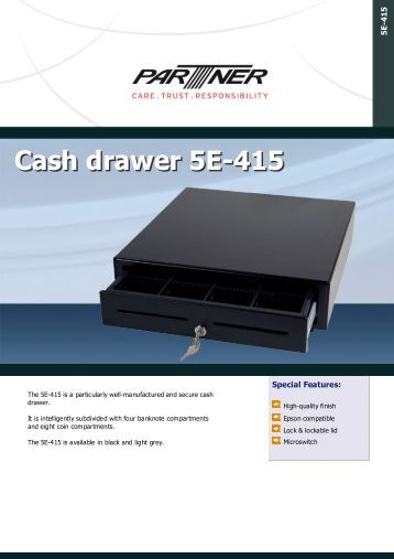 C4141 Cash Drawer With USB Trigger Install The Prolific