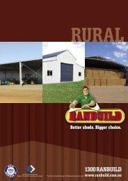 rural brochure - Cyclad Buildings