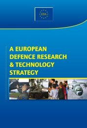 (EDRT) Strategy - European Defence Agency - Europa