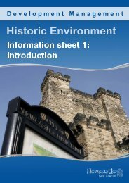 Historic Environment : Introduction - Newcastle City Council