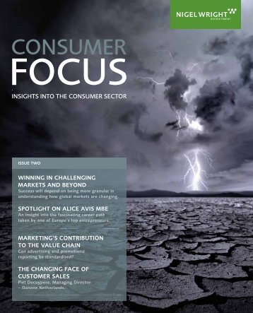 Consumer Focus magazine – Issue 2 - Nigel Wright