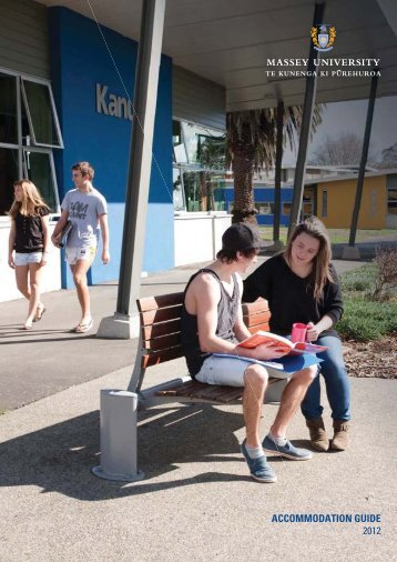 Accommodation Guide 2012 - Massey University