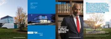 PUBLIC LECTURE SERIES - University of Hertfordshire