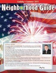 Cudahy • Summer 2011 - Neighborhood Guide