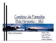 Complexo da Pampulha - Histeo.dec.ufms.br
