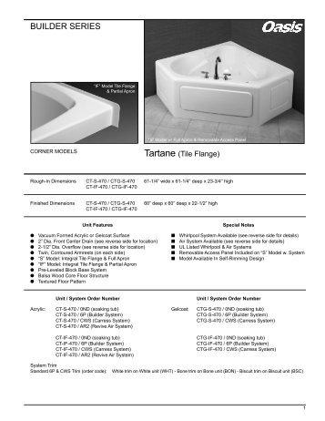 BUILDER SERIES - Oasis Bath