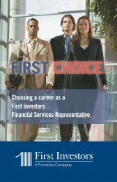 First Choice - First Investors