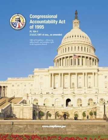 The Congressional Accountability Act - Office of Compliance