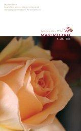 Prospekt_Maximilian.pdf - Apartments & Hotel MAXIMILIAN MUNICH