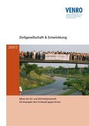 Zivilgesellschaft & Entwicklung - Venro