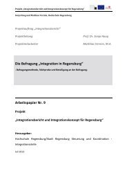 Die Befragung - Ostbayerische Technische Hochschule Regensburg